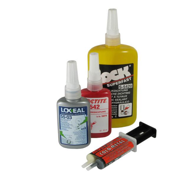 Gewindedichtung Schraubensicherung Klebstoff Loxeal