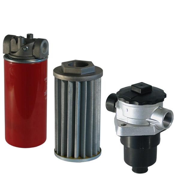 hydraulische Filter