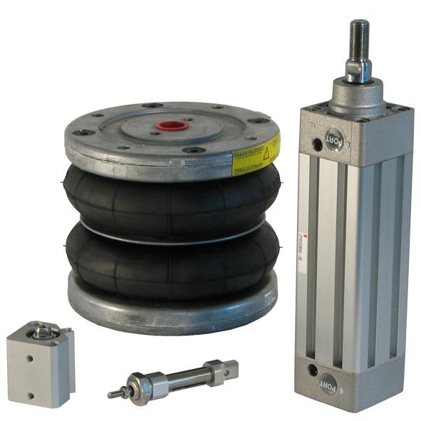 Pneumatikzylinder Zylinderbauteile